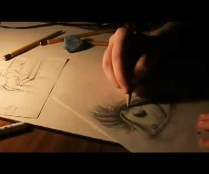 art, draw, and ink image