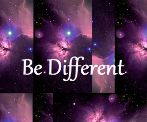 different and galaxy image