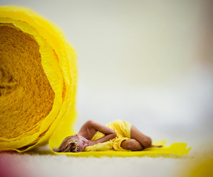 miniature, yellow, and creativephotography image