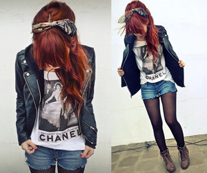 boots, hair, and look image