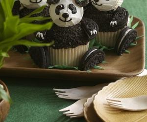 cupcake and panda image