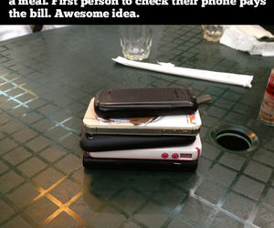 phone, funny, and awesome image