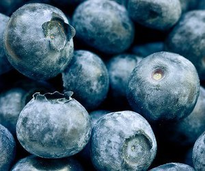 blueberry, food, and berries image