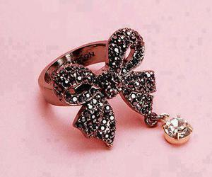 ring, bow, and pink image