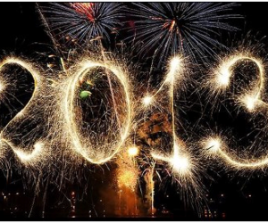 2013, fireworks, and new year image