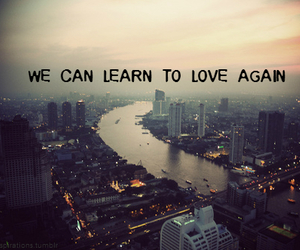 love, text, and city image