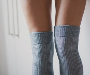 legs, socks, and skinny image