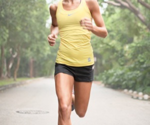fit, running, and body image