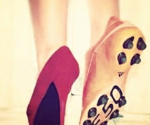 love soccer spikes shoes image