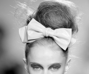 fashion, model, and bow image