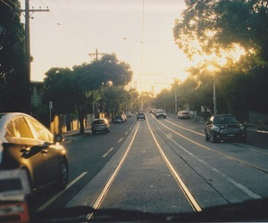 car, street, and photography image