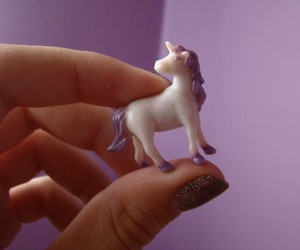 figurine and unicorn image