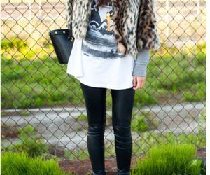 fashion, bag, and leggings image