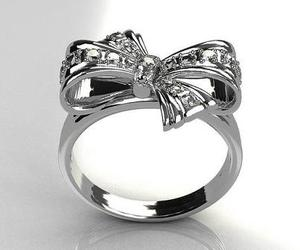 ring, bow, and silver image