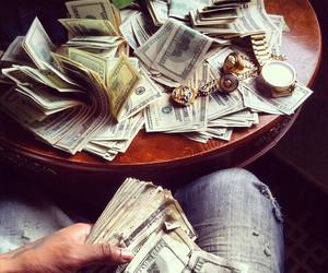 cash, dollar, and luxury image