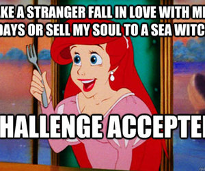 disney, ariel, and challenge image