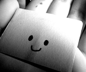 black and white, cute, and hand image