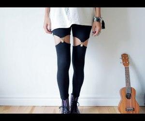 diy, tutorial, and leggings image