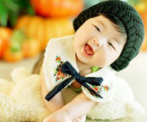asian and baby image