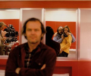 behind the scenes, daughter, and Stanley Kubrick image