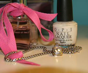 nail polish, perfume, and opi image