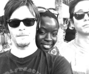norman reedus, the walking dead, and glenn image