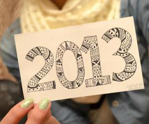 2013 and new year image