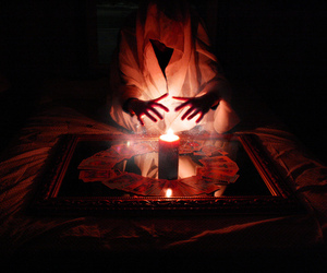 candle, magic, and witchcraft image