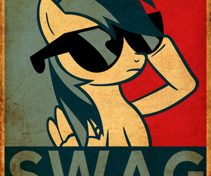 swag, pony, and my little pony image