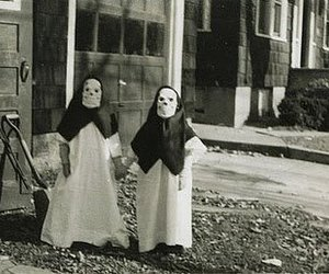 black and white, children, and costume party image