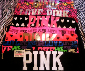 pink, Victoria's Secret, and yoga pants image