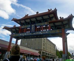 chinatown, photography, and seattle image