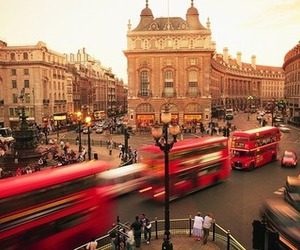 london, bus, and england image