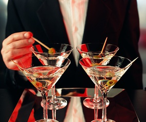 drink and martini image