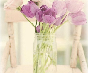 decor, glass, and lilac image