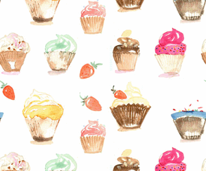 cake, background, and cupcake image