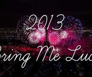 2013 and luck image
