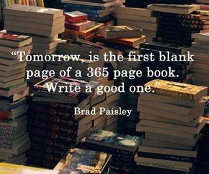 book, quote, and new year image