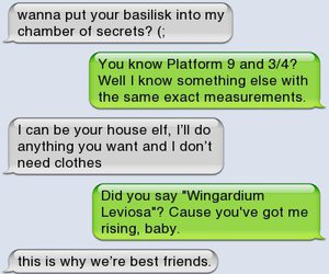 best friend, funny, and harry potter image