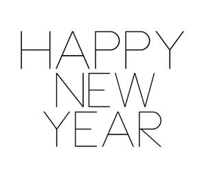 happy new year, new year, and 2013 image