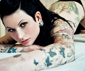 alternative, tatoo, and alternative girl image