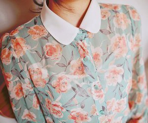 blouse, girl, and fashion image