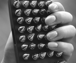 black and white, epic, and hand image