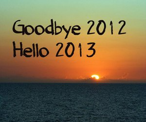 2013, 2012, and goodbye image