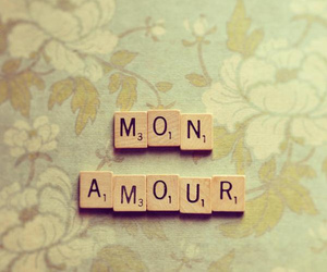 love, mon amour, and amour image