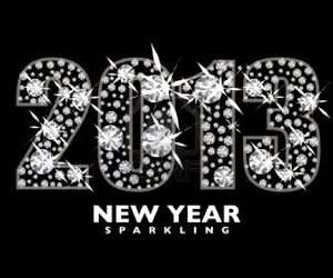 2013, 2012, and happy new year image