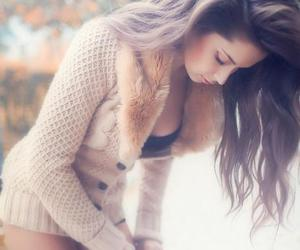autumn, brunette, and girl image