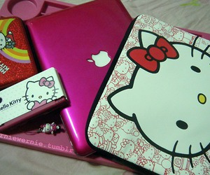 gadgets and hello kitty image