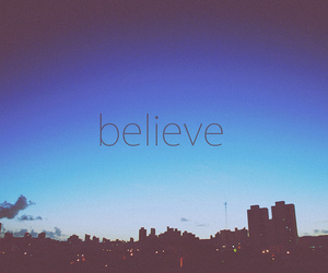 believe, text, and quote image