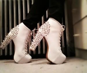 heels, litas, and jeffrey campbell image
